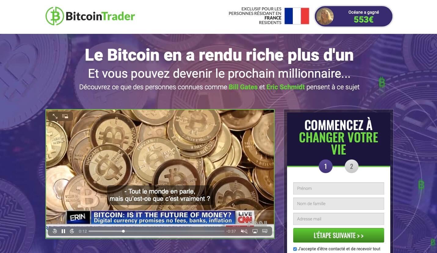 Bitcoin Trader Avis 2021: Est-ce une arnaque ?